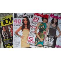 4 Revistas Com Moldes
