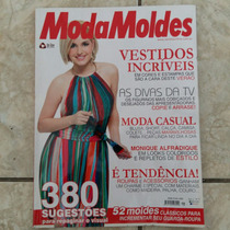 Revista Moda Moldes Monique Alfradique Ano 1 No. 9 Sem Molde
