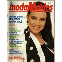 478 Rvt- 1990 Revista Moda Moldes- 053 Nov- Regina Duarte
