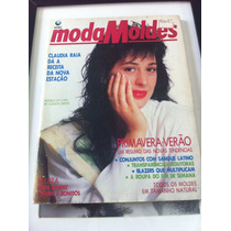 Revista Moda Moldes Capa Claudia Raia Musa Do Verão Nov 1990