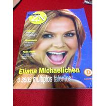 Revista Zona Norte Capa Eliana Musa Apresentadora Do Sbt