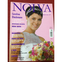 Revista Noiva Linda Carolina Dieckmann Rara Musa Gata Estrel