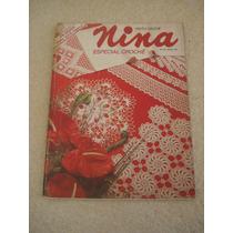 Revista Nina Especial Crochê 74 Páginas Com Capa Dura