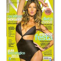 Revista Nova - Gisele/ Especial Festa/ Dieta...
