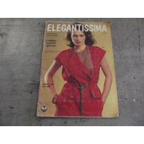 Revista Elegantíssima 1985 Moda Moldes Costura