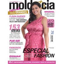 Revista Molde E Cia Tamanhos Grandes - 42 Moldes Do 48 Ao 60