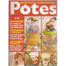 Artesanato Biscuit Especial Potes Nº 6