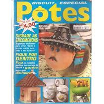 Artesanato Biscuit Especial Potes Nº 10