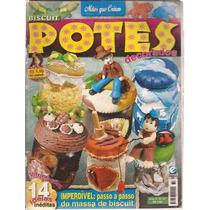 Artesanato Mãos Que Criam Biscuit Potes Decorados Nº 32