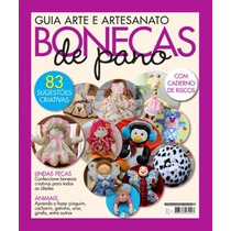 Revista Guia Arte E Artesanato Bonecas De Pano 2014