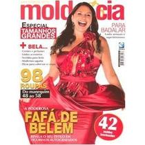 Revista Molde E Cia Tamanhos Grandes - 42 Moldes Do 48 Ao 58