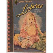 Artesanato - Gran Album Labores Tricô, Crochê, Bordado 1948