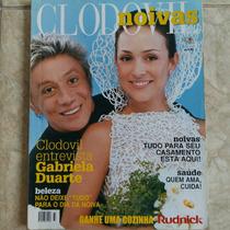 Revista Clodovil Noivas Gabriela Duarte