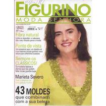 Figurino Moda Senhora Ano 3 Nº 11 Com Moldes Marieta Severo