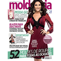 Revista Molde E Cia - N. 92 - 52 Moldes De Roupas - Costura
