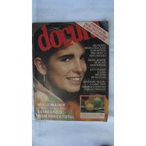 Novela De Corpo A Corpo = Doçura Nº 68 = Malú Mader = 1985