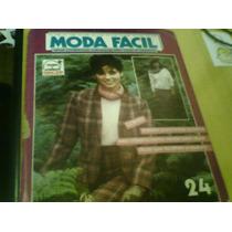 Revista Moda Fácil Modelos E Moldes Nº24 Nova Cultural