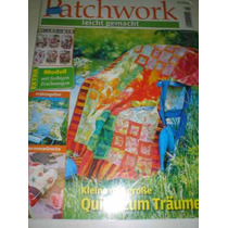Revista Importada Patchwork - Leicht Gemacht-com Moldes