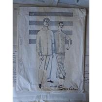 Moldes No Papel Original De Pijama Masculino N. 42 Anos 60