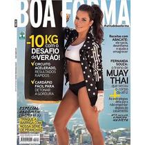 Revista Boa Forma # 348 Fernanda Souza Outubro 2015 Lacrada!