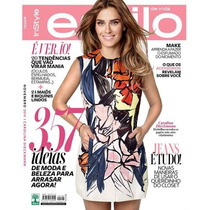 Revista Estilo Carolina Dieckmann ! = Nov 2014 #146 Lacrada!