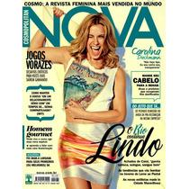 Revista Nova Cosmopolitan Marco 2015 #498 Carolina Dieckmann