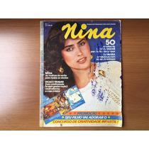 Revista Nina N° 1 De 1981 - Tricô E Crochê - Moda Anos 70/80