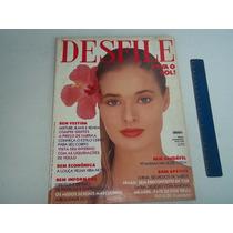 Revista Desfile Nº 233 Fevereiro 1989 Xuxa Leny Andrade Moda