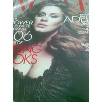 Vogue - Americana - Março 2012, Capa Adele