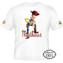 Camisa Camiseta Blusa Personalizada Toy Story Woody Buzz