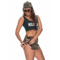 Kit Militar Saia - Sapeka - Frete Especial - S