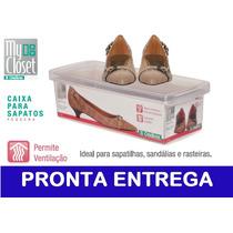 Caixa De Sapato Transparente Organizar Ordene Pequena