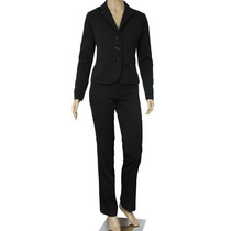Terninho Blazer Feminino Two Way Preto