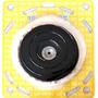 Kit Polimento Com Boina Lã + Disco + Adaptador P/ Furadeira