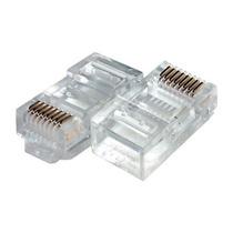 Conector Rj45 Macho Cat5e Rede Lan Pacote 100 Unidades 20825