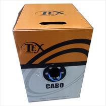 Caixa Com 305 Metros De Cabo De Rede Cat5e Nacional - Preto