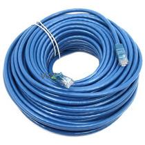 Cabo De Rede Ethernet 100 Metros Internet Montado