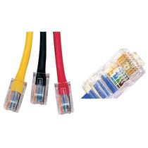 Conector Rj 45 Pacote Com 100 Unds Rede Lan Ethernet 802.3