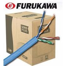 Cabo De Rede Furukawa Cat5e Soho Plus Caixa 305 Metros Azul