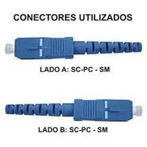 Cordão Fibra Óptica Sc-sc Monomodo 40m