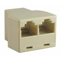 Adaptador/splitter/divisor/duplicador Ethernet Rj45 Lan