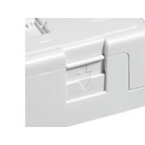 Caixa 20 Tomadas Aparente 1 Posição Rj45 - Furukawa - Branca