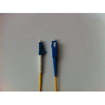 Cordão Óptica Sc/upc X Lc/upc Sm 3 M Fibra 2.0mm/10 Peças