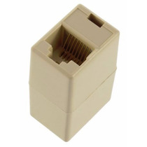 Kit C/ 10 Adaptador/acoplador/emenda Eth Rj45 Rede Lan