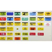 Plaqueta Identificação Personalizada Para Fibra Óptica