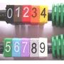 Identificador De Cabos Rede Lan Anilhas Kit C/ 500 Unidades
