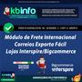 Módulo Exporta Fácil ( Correios ) Lojas Interspire - Kbinfo