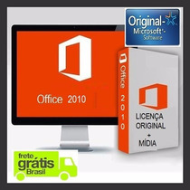 Microsoft Office 2010 Pt / Br Original 32/64 Bits