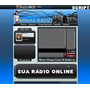 Super Site Para Web Rádio Administrável - Com Chat - Script