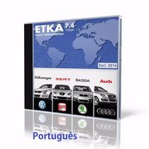Etka 7.4 02.2015 Volkswagen/seat/skoda/audi +atualizador
